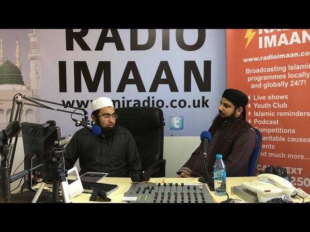 Qari Asif Rasheedi  (Naat on Radio Imaan 2018)