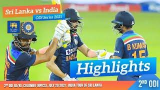2nd ODI Highlights