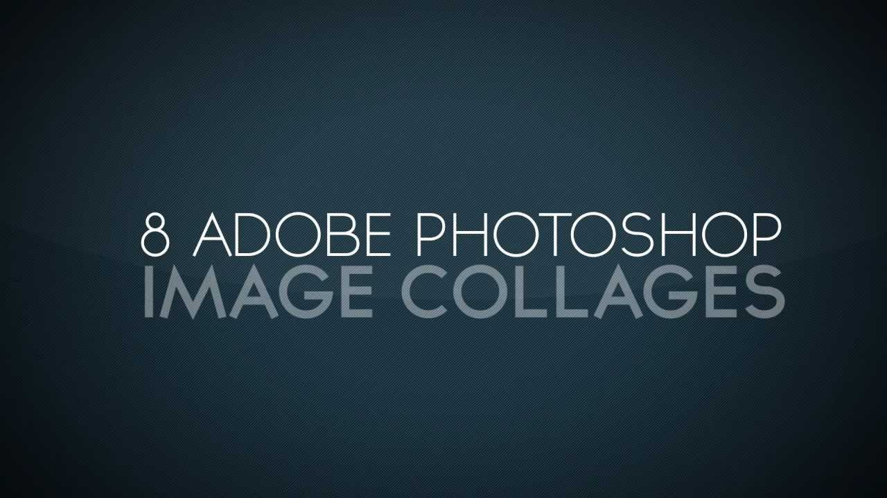free photoshop image collage templates 10 youtube