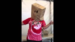 Harlem shake- paper bag edition