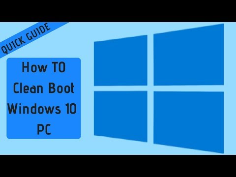 How To Clean Boot Windows 10 PC | QUICK GUIDE JUNE  2018 |