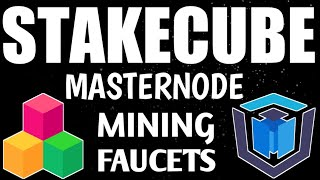 STAKECUBE | PASSIVE EARNING FROM MASTERNODES, FAUCETS, MINING, STAKING | EXCHANGER & CRYPTO WALLET