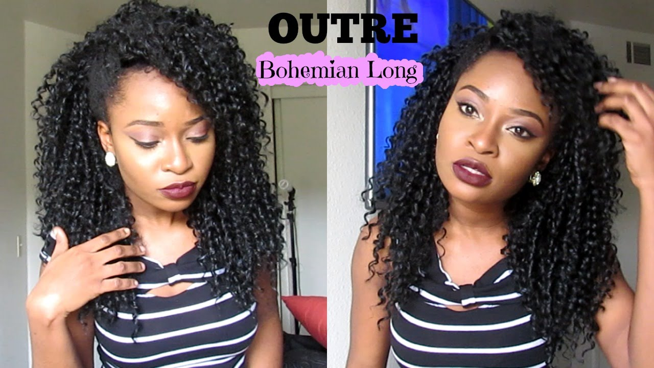 Gorgeous hair under 15 outre quick weave half wig in bohemian gorgeous hair under 15 outre quick weave half wig in bohemian long youtube pmusecretfo Gallery