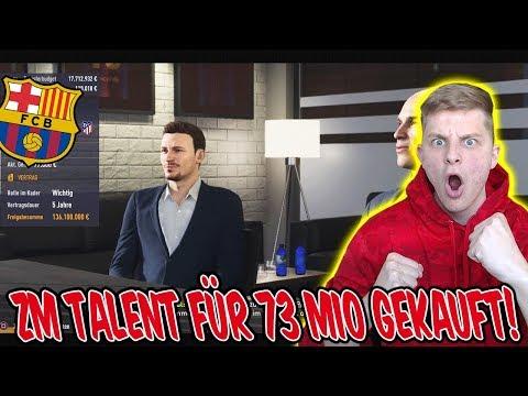 Wir holen ein krankes ZM TALENT für 73 MIO€! - Fifa 18 Karrieremodus Fc Barcelona 12