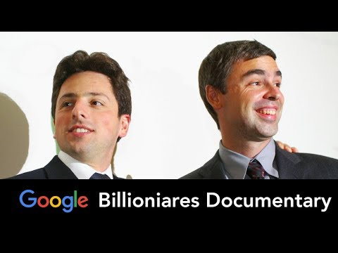 Larry Page & Sergey Brin - Billionaire Documentary- Google, Youtube, Alphabet, Innovation
