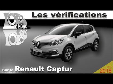 Renault Captur: vérifications et sécurité routière
