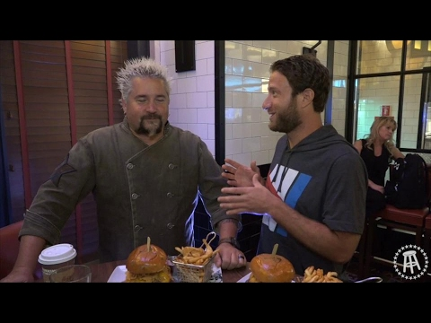Barstool Pizza Review - Regina Pizzeria (Foxwoods) With Special Guest Guy Fieri  (Bonus Burgerthots)