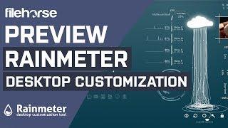 rainmeter 3 3 0 popular desktop customization program for windows download software preview