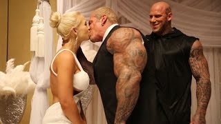 Rich and Sara Piana's beautiful Wedding! ❤️ Perfect Bodybuilding Marriage at Olympia 2015