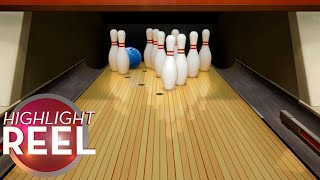 Highlight Reel #548 -  Pins Step Aside To Let Bowling Ball Through