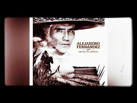 Alejandro Fernández Hecho En México Y El Poema De Un