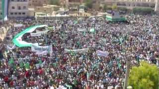 اروع مظاهرة في مدينة الباب 8/6/2012