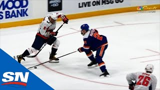 Ovechkin Passes Lemieux In Goals With Beautiful Dangle, Lucky Bounce