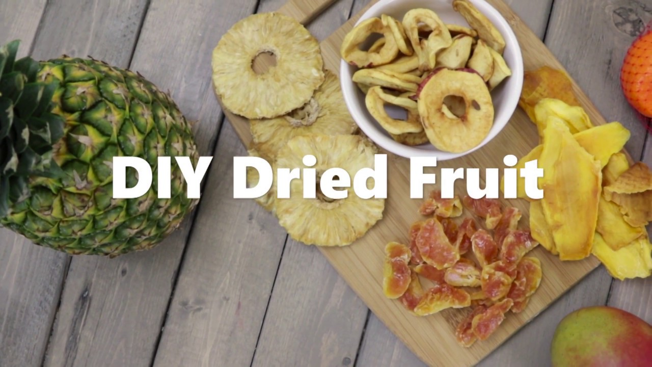 How to Make DIY Dried Fruit Video