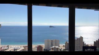Квартира в Испании с панорамным видом на море и Бенидорм! Coblanca