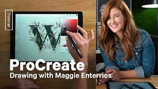 How To Illustrate Typography In Procreate With Maggie Enterrios
