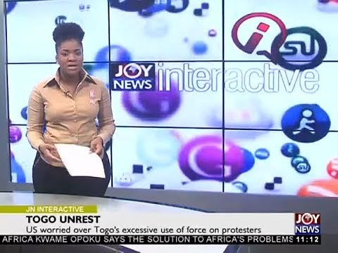 Togo Unrest - Joy News Interactive (26-10-17)