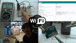 Simple Arduino Web Server on ESP-07/ESP-12 Tutorial