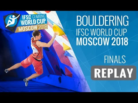 IFSC Climbing World Cup Moscow 2018 - Bouldering - Finals - Men/Women