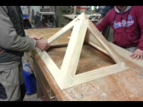Piramide desmontable en madera piramide wood mounting - Construir en madera ...