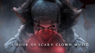 Video 1 Hour of Scary Clown Music | Halloween Music download MP3, 3GP, MP4, WEBM, AVI, FLV November 2017