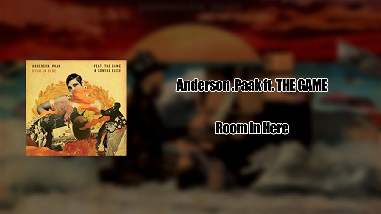 Paak Room In Here Sub Espanol And Lyrics