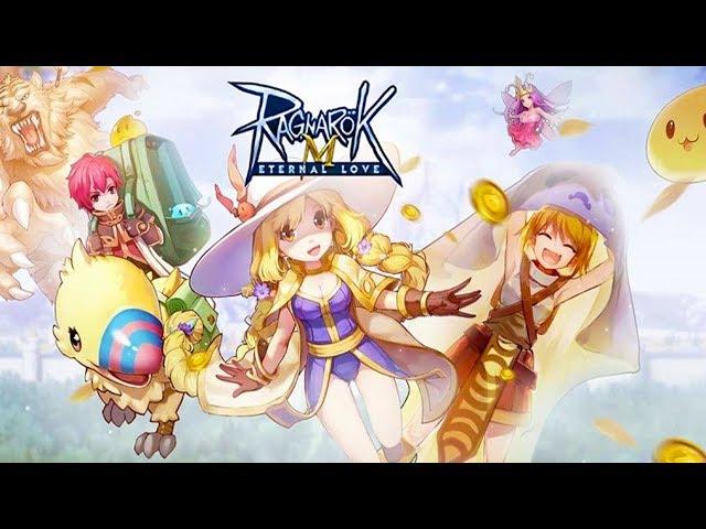 Ragnarok Eternal Love! - Novo Ragnarok, Mago e Prontera, Gameplay PT BR Exclusivo!!