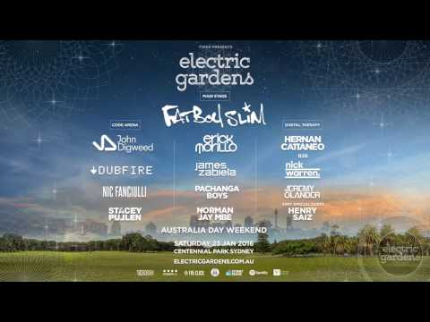 Electric Gardens Festival 2016 -  Digital Therapy Stage