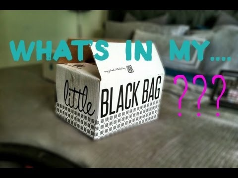 Little Black Bag Unboxing + Review 2013