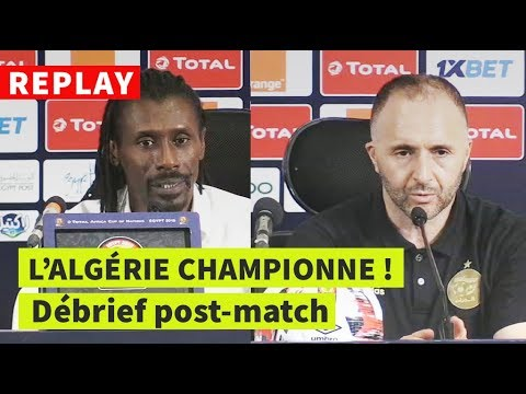 REPLAY - FINALE CAN-2019 | Sénégal-Algérie: conf de presse post-match
