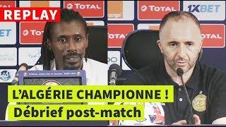 REPLAY - FINALE CAN-2019 | Sénégal-Algérie: conf de presse post-match