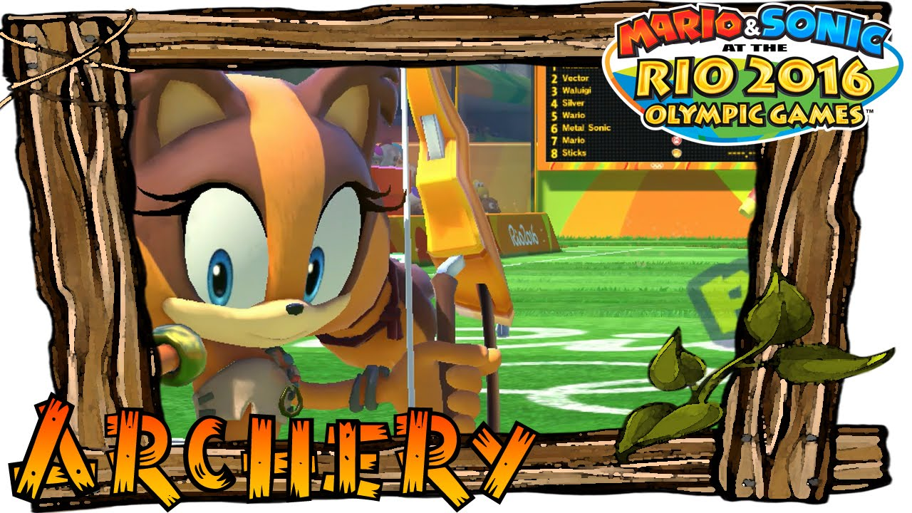 [Mario and Sonic at the Olympic Games] - Archery w/ Tails ...