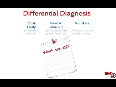 How to make a differential diagnosis