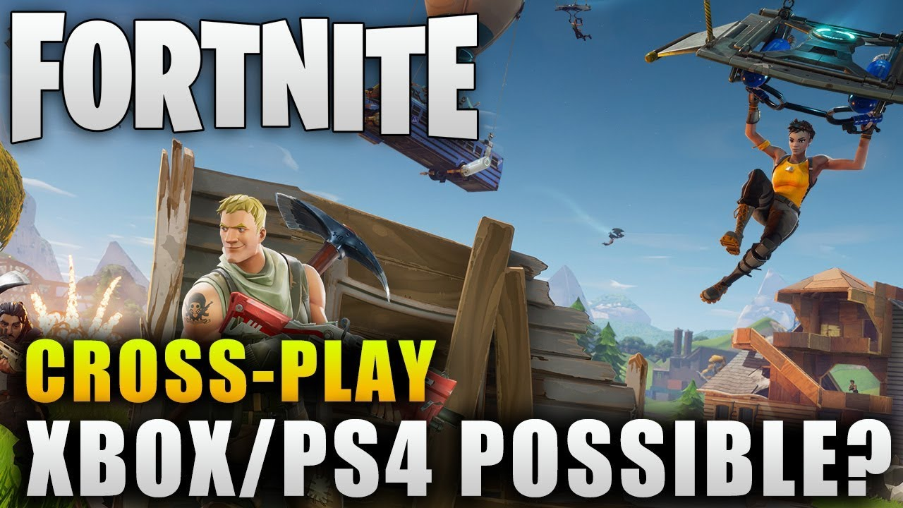 Fortnite News Xbox And Ps4 Crossplay Possible Fortnite Battle