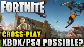"""Fortnite News """"XBOX and PS4 Crossplay Possible?"""" Fortnite Battle Royale Crossplay"""