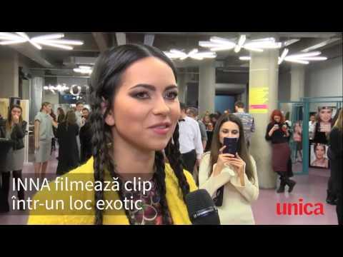 INNA | Entrevista @ Unica Romania
