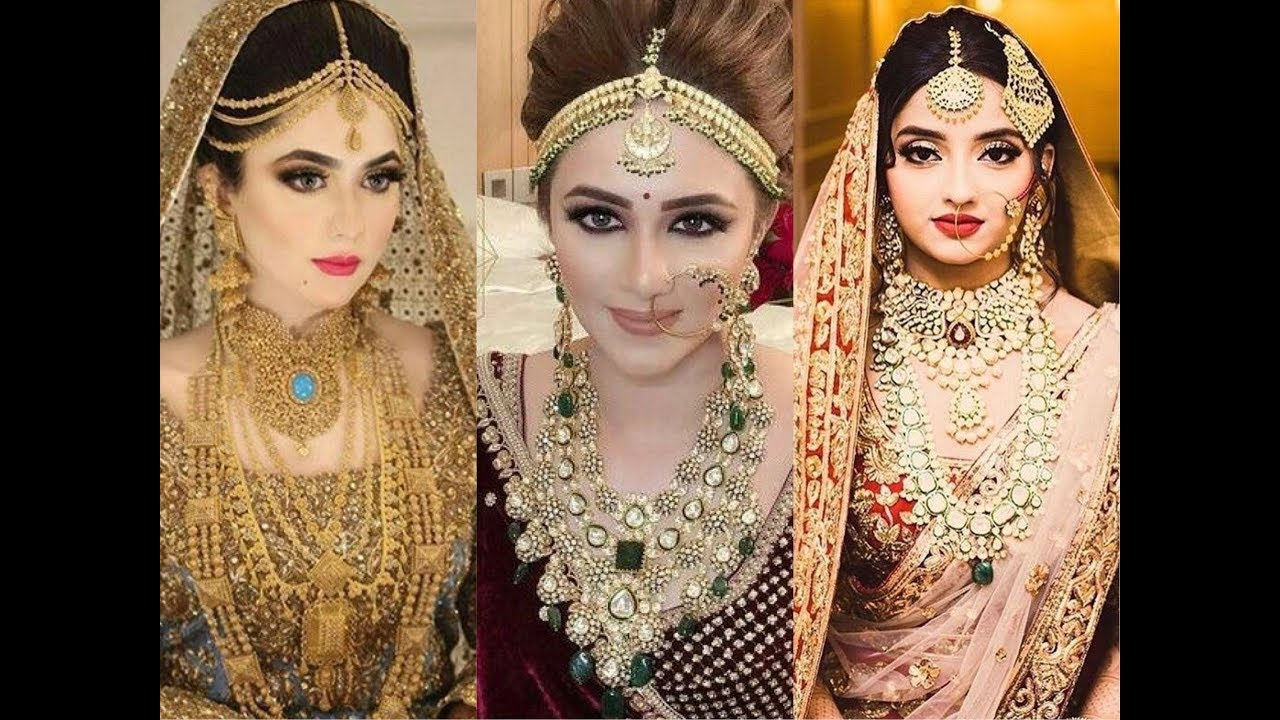 2018 Bridal Jewellery Trend Pakistani And Indian Traditional