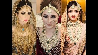 2018 Bridal Jewellery Trend - Pakistani and Indian Traditional Brides