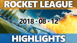 Rocket League Highlights 2018 08 12