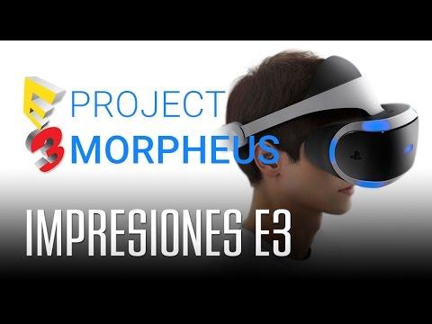 PROJECT MORPHEUS: ¿Funcionará en los juegos?