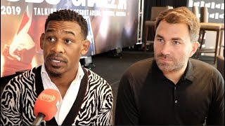 'CHAVEZ JR SHOULD HAVE TAKEN THE TEST' - SAYS EDDIE HEARN ALONGSIDE DANNY JACOBS / TALK CANELO & GGG