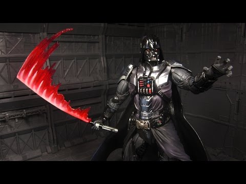 Play Arts Kai Darth Vader Review