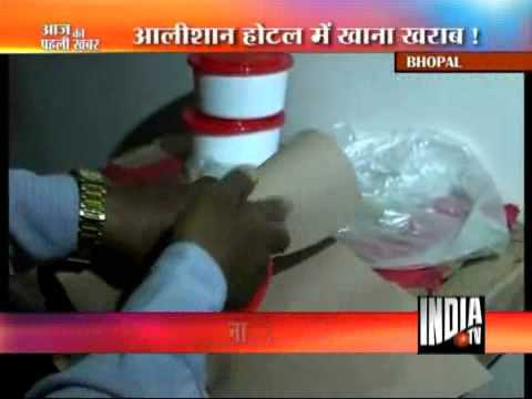 Bhopal Hotel Raided For Adulterated Foodstuff