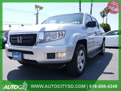 2010 honda ridgeline rt for sale in san diego by auto city youtube. Black Bedroom Furniture Sets. Home Design Ideas