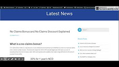 No Claims Bonus and No Claims Discount Explained - Fleets Insurance