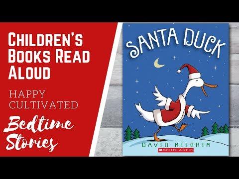 SANTA DUCK Christmas Book Read Aloud | Christmas Books for Kids | Children's Books Read Aloud