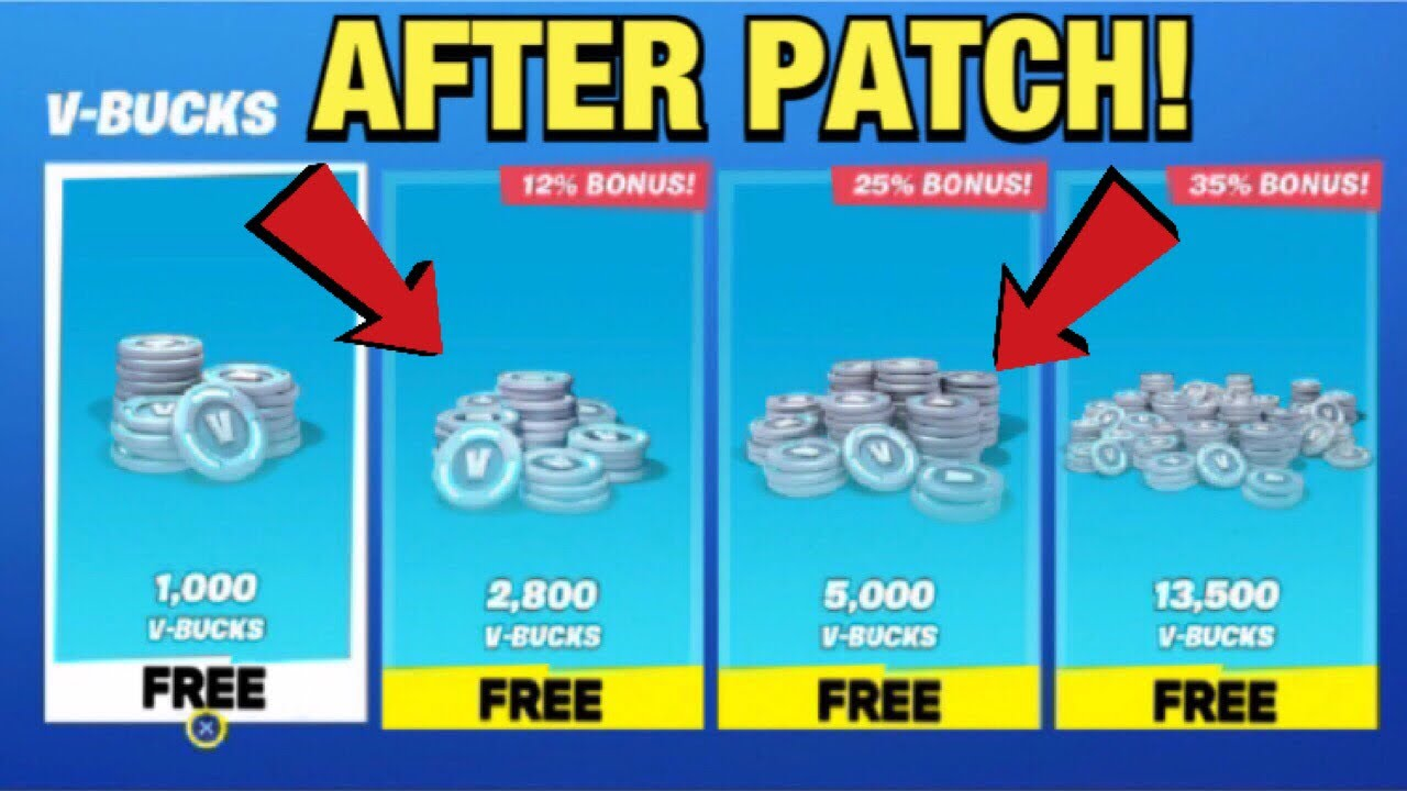 how to get free v bucks on pc