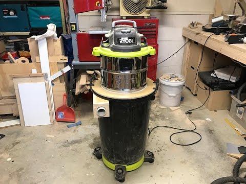 Cyclone Dust Separator (Shop Vac Hack)