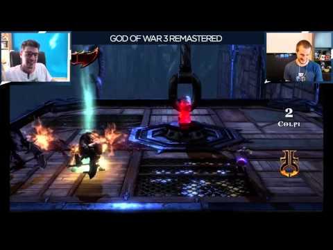 God of War III Remastered - Everyeye.it Live Streaming