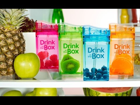 Drink in the Box - Reusable Drink Boxes